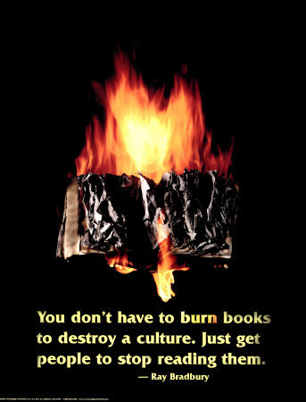 7168P~Burning-Book-Posters
